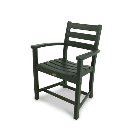 Monterey Bay Dining Arm Chair in Rainforest Canopy