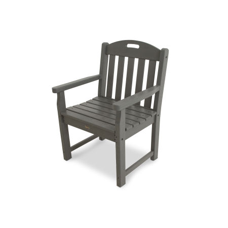 Yacht Club Garden Arm Chair in Stepping Stone