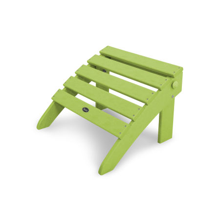 Cape Cod Folding Ottoman in Lime