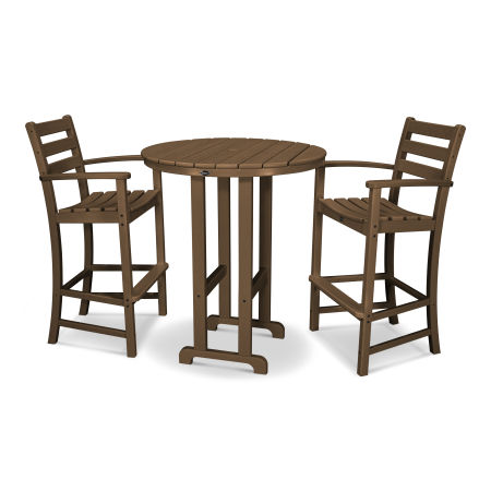 Monterey Bay 3-Piece Bar Set in Tree House