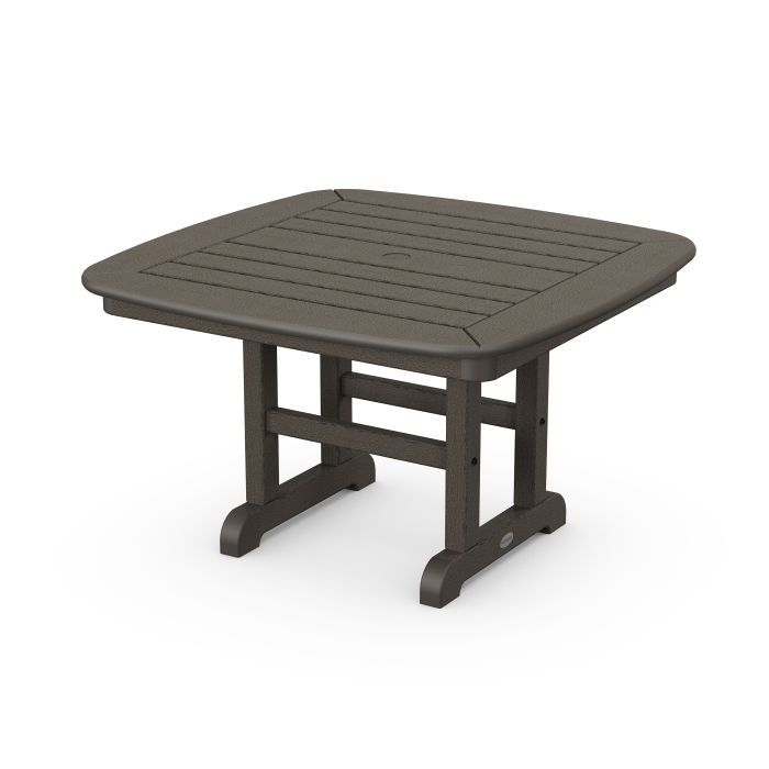 """Nautical 31"""" Conversation Table in Vintage Finish"""