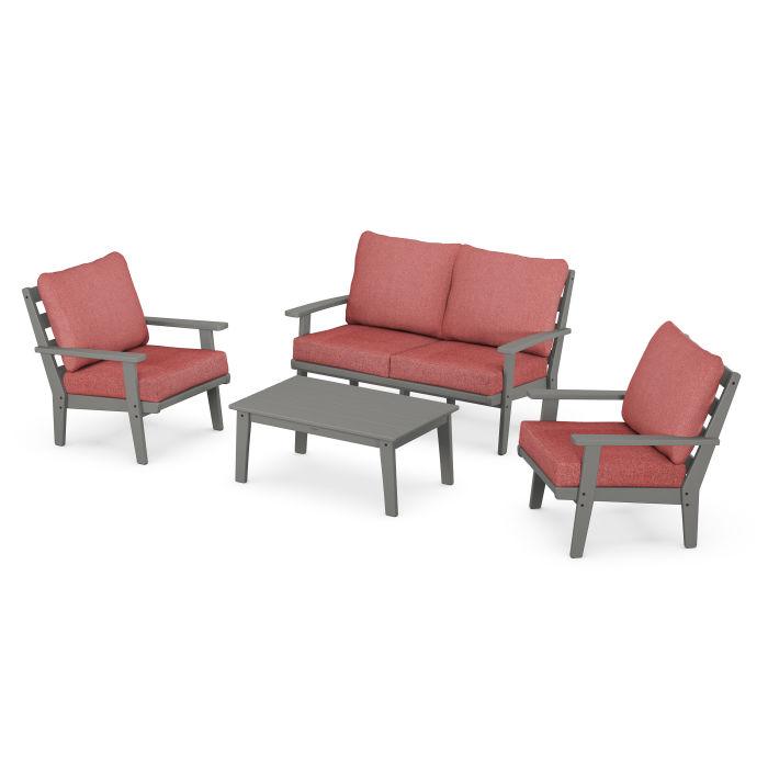 Grant Park 4-Piece Deep Seating Chair Set