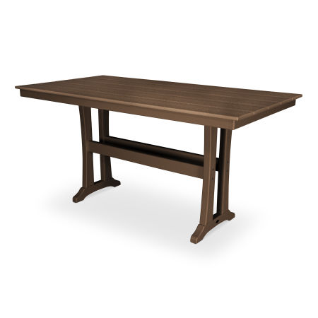 "Farmhouse 37"" x 72"" Counter Table in Tree House"