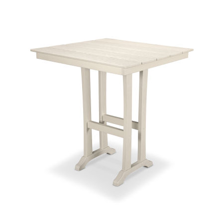 "Farmhouse 37"" Bar Table in Sand Castle"