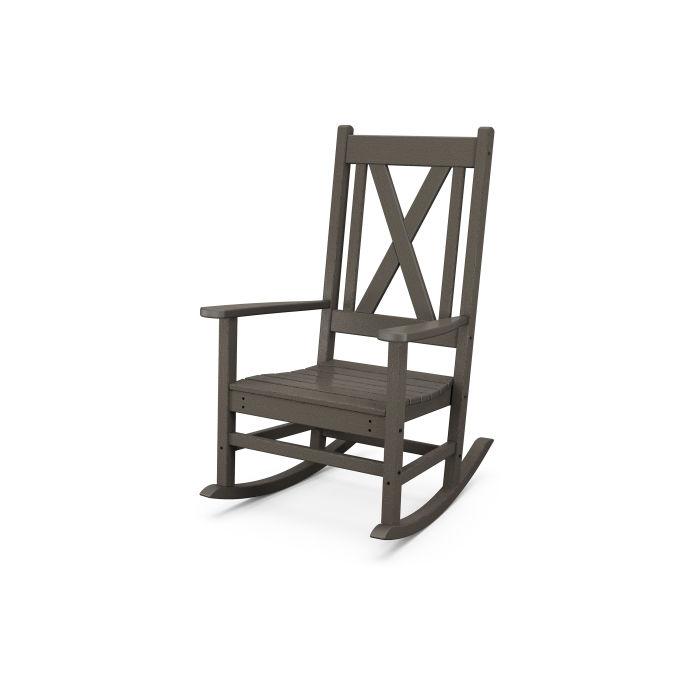 Braxton Porch Rocking Chair in Vintage Finish