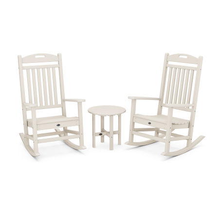 Yacht Club Rocker 3-Piece Set in Sand Castle