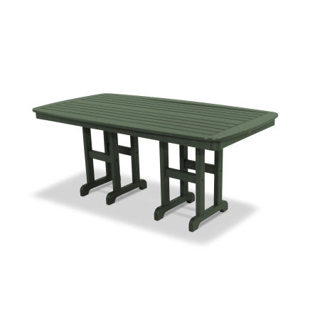 "Yacht Club 37"" x 72"" Dining Table in Rainforest Canopy"