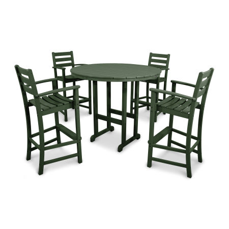 Monterey Bay 5-Piece Bar Set in Rainforest Canopy