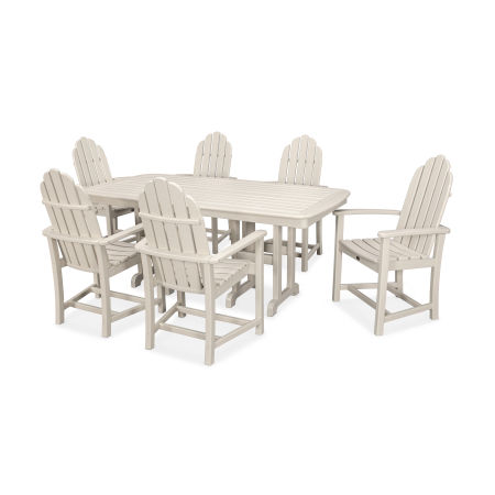 Cape Cod 7-Piece Dining Set in Sand Castle