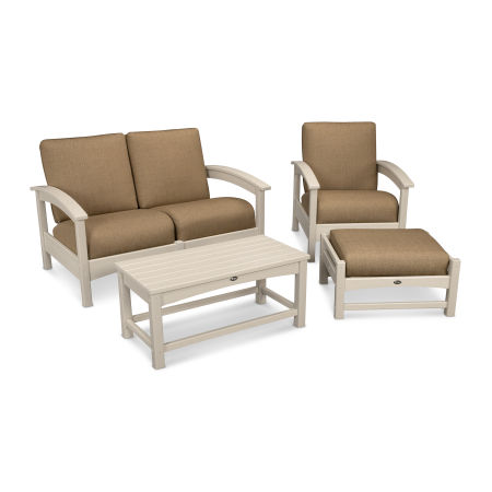 Rockport 4-Piece Deep Seating Conversation Group
