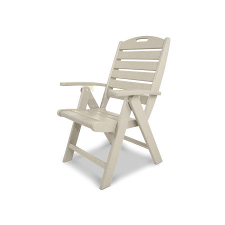 Yacht Club Highback Chair in Sand Castle