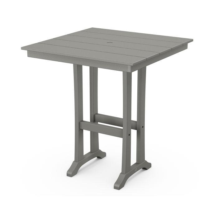 """Farmhouse Trestle 37"""" Bar Table"""