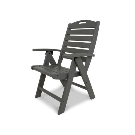 Yacht Club Highback Chair in Stepping Stone