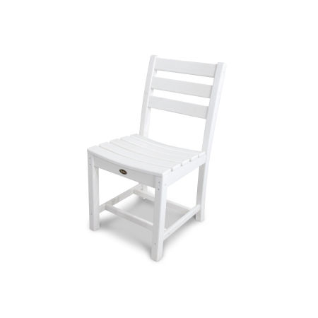 Monterey Bay Dining Side Chair in Classic White