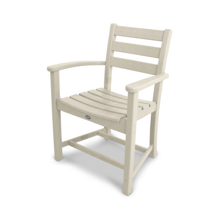 Monterey Bay Dining Arm Chair in Sand Castle