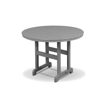 """Monterey Bay Round 36"""" Dining Table in Stepping Stone"""