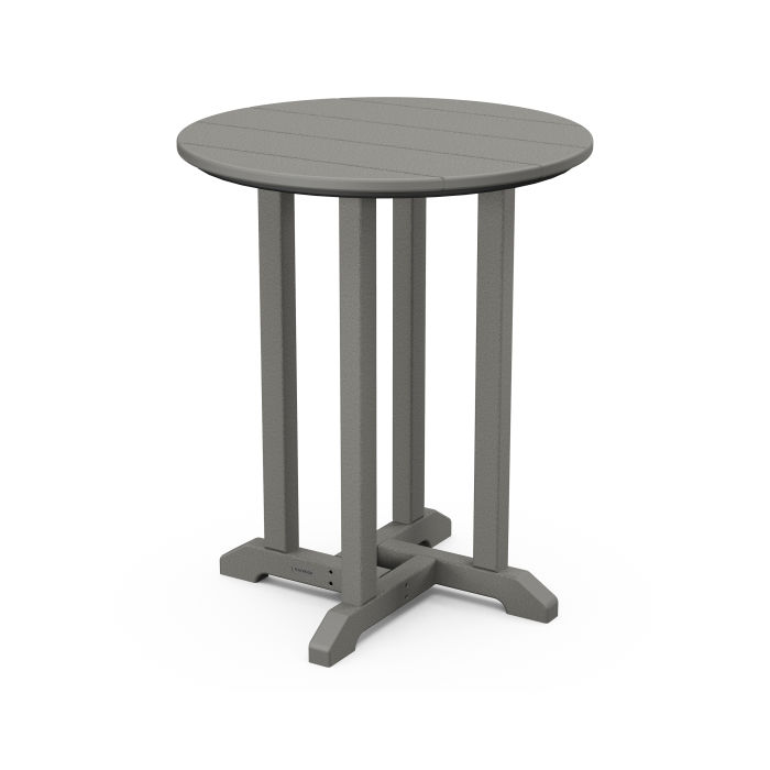 """Traditional 24"""" Round Dining Table"""