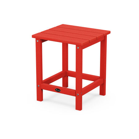 """Eastport 18"""" Side Table in Sunset Red"""