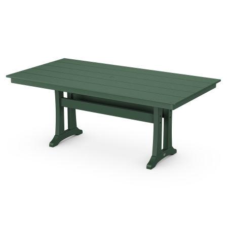 "Farmhouse 37"" x 72"" Dining Table in Rainforest Canopy"
