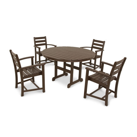 Monterey Bay 5-Piece Dining Set in Vintage Lantern