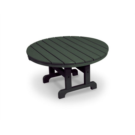 "Cape Cod Round 36"" Conversation Table in Rainforest Canopy"