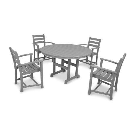 Monterey Bay 5-Piece Dining Set in Stepping Stone