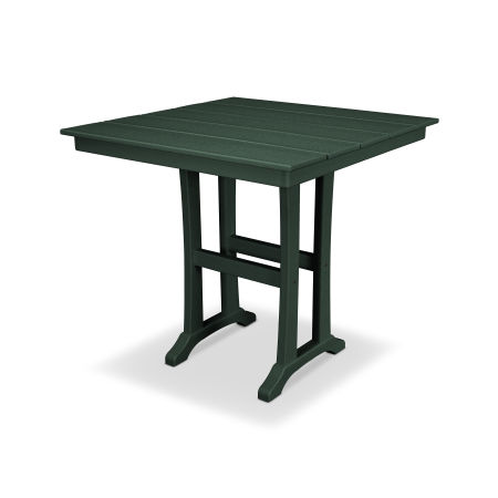 "Farmhouse 37"" Counter Table in Rainforest Canopy"