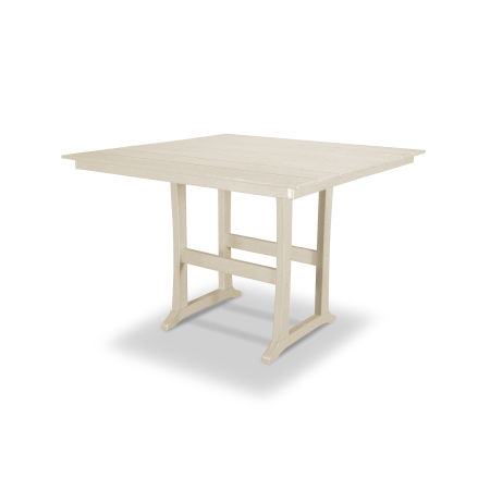 "Farmhouse 59"" Bar Table in Sand Castle"