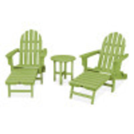 Cape Cod 3-Piece Ultimate Adirondack Set in Lime