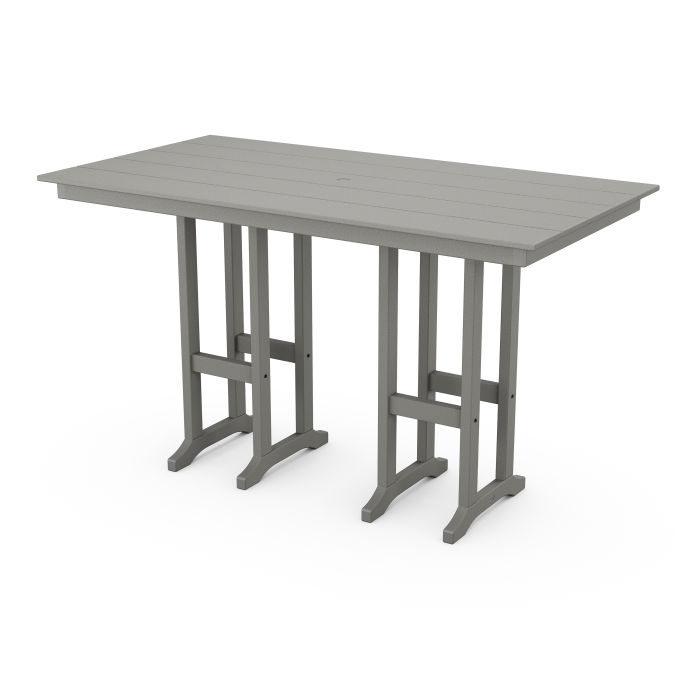 "Farmhouse 37"" x 72"" Bar Table"