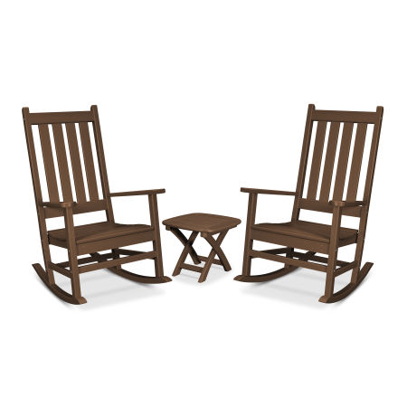 Cape Cod 3-Piece Porch Rocking Chair Set in Tree House