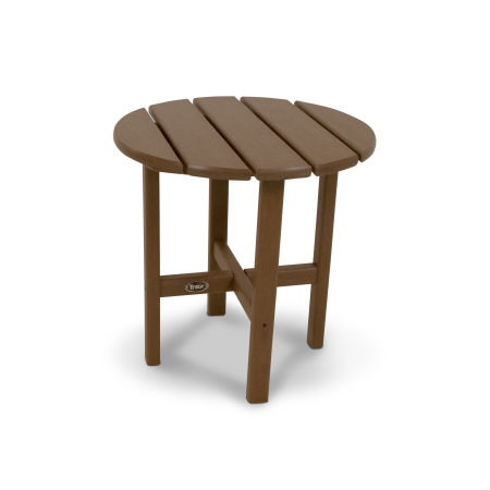 "Cape Cod Round 18"" Side Table in Tree House"