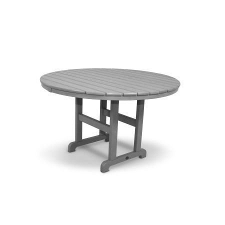 """Monterey Bay Round 48"""" Dining Table in Stepping Stone"""