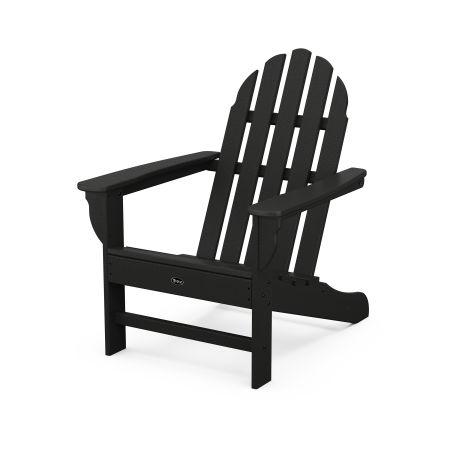 Cape Cod Adirondack Chair in Charcoal Black