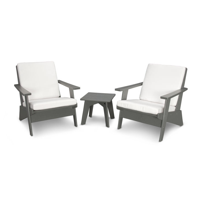 Riviera Modern Lounge 3-Piece Set