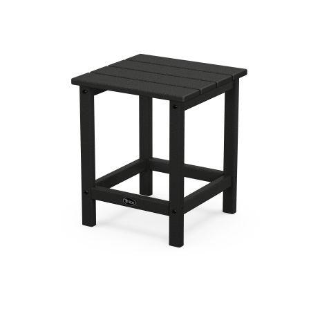 "Eastport 18"" Side Table in Charcoal Black"
