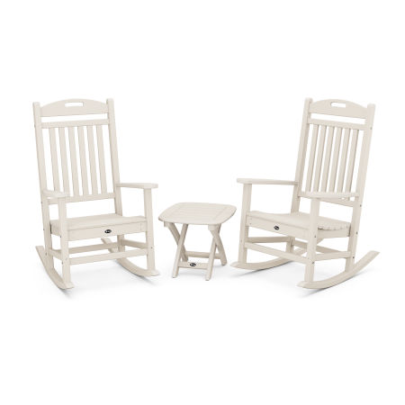 Yacht Club 3-Piece Rocker Set in Sand Castle