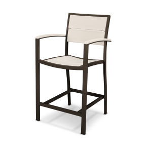 Surf City Counter Arm Chair