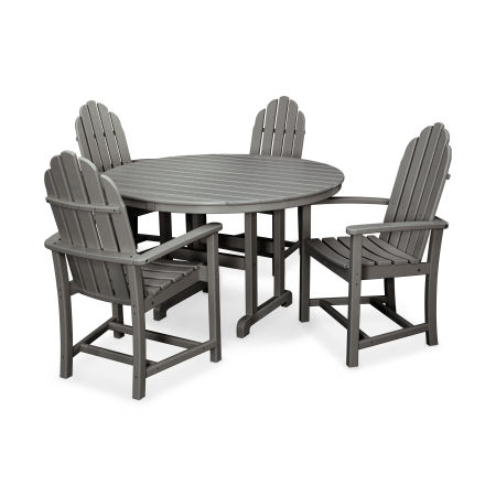 Cape Cod 5-Piece Dining Set in Stepping Stone