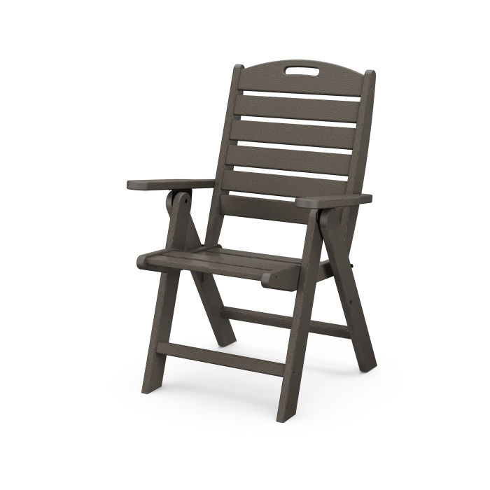Nautical Highback Chair in Vintage Finish