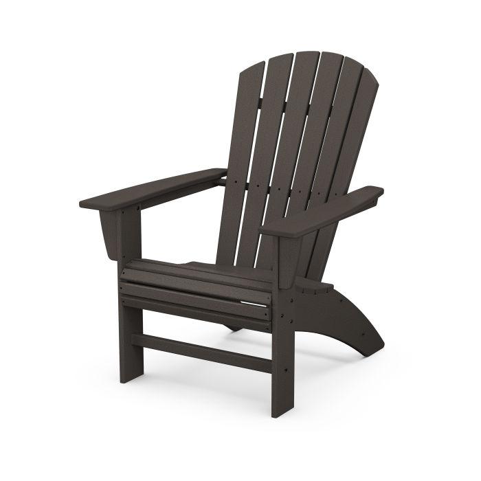 Nautical Curveback Adirondack Chair in Vintage Finish