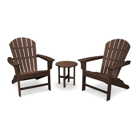 Yacht Club Shellback 3-Piece Adirondack Set in Vintage Lantern