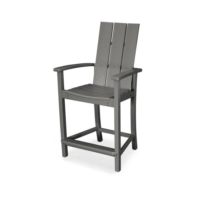 Modern Adirondack Counter Chair