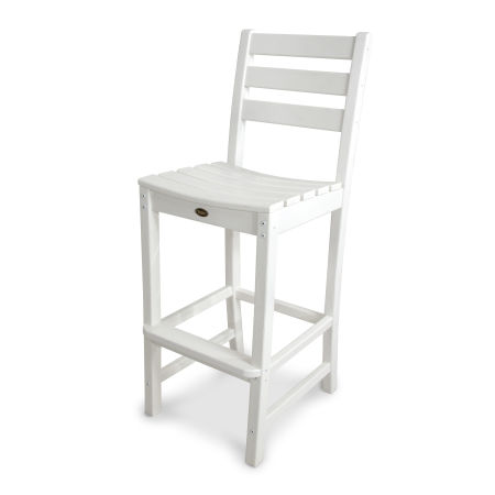 Monterey Bay Bar Side Chair in Classic White