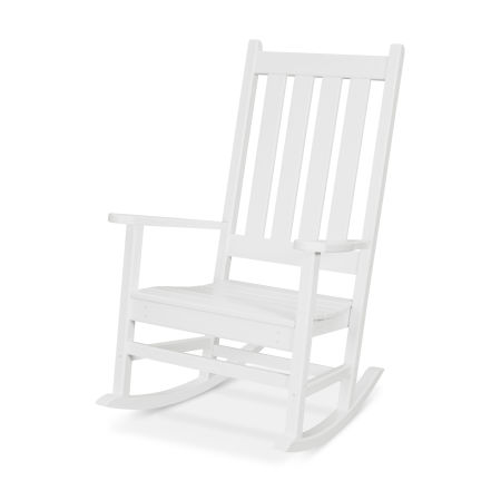 Cape Cod Porch Rocking Chair in Classic White