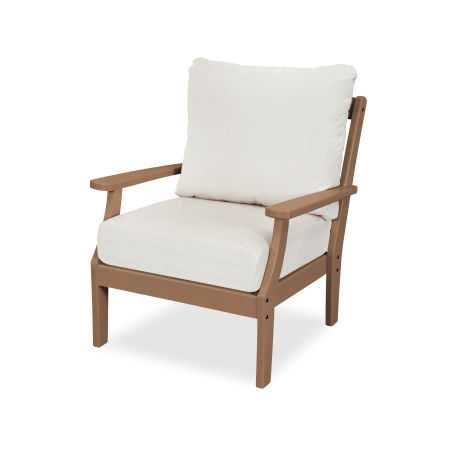 Yacht Club Deep Seating Chair in Tree House / Bird's Eye