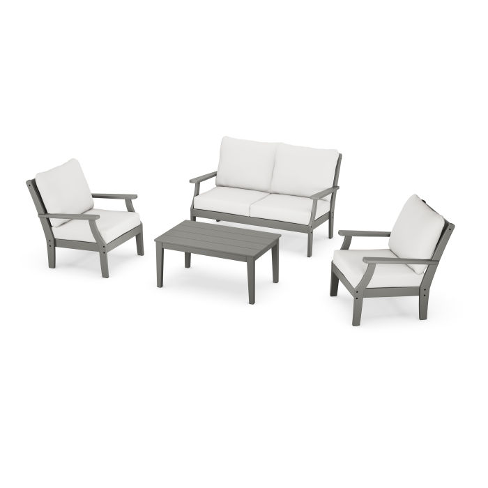 Braxton 4-Piece Deep Seating Chair Set