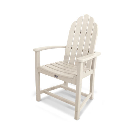 Cape Cod Adirondack Dining Chair in Sand Castle