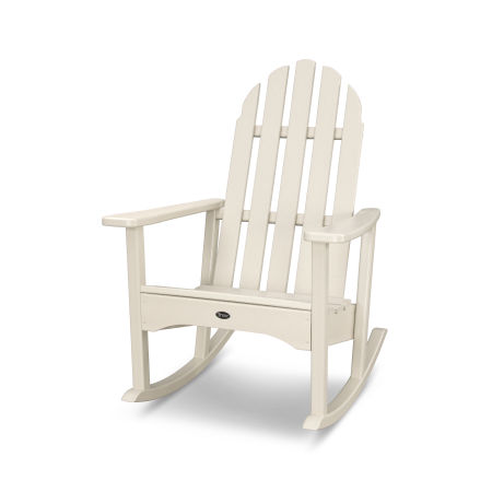 Cape Cod Adirondack Rocking Chair in Sand Castle