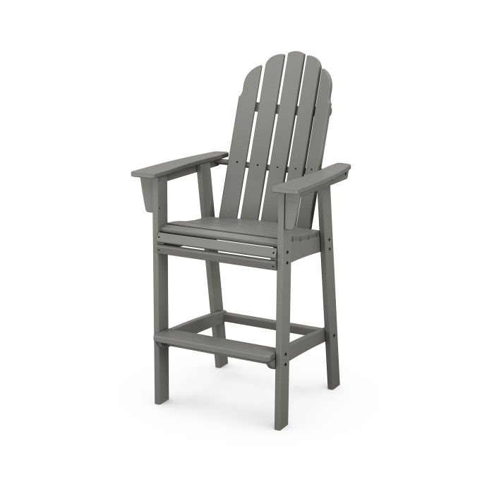 Vineyard Curveback Adirondack Bar Chair